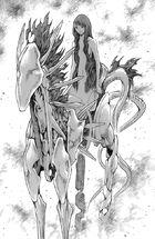 Octavia forma risvegliata mentre si rigenera