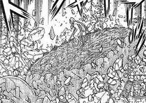 La struttura di Agata distrutta dai sette fantasmi (2)