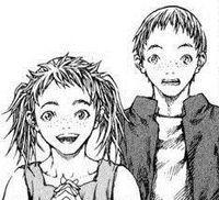 Nina di Hanel e fratello