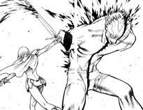 Claire mentre uccide lo Yoma di doga 1 cap 1