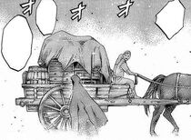 Kakumo in fuga da Doga insieme a Priscilla e Raki