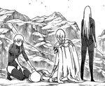 Phina mentre viene curata da Cinzia in presenza di Keira e Yuma