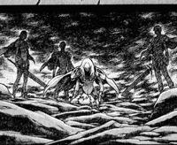 Gruppo di caccia a Hilda risvegliata con Miria e Ofelia cap 30