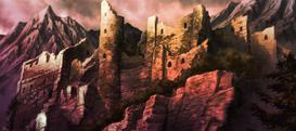 Il castello di Riful sul monte Zakol