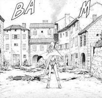 Rokuto distrutta e saccheggiata dai banditi cap 16