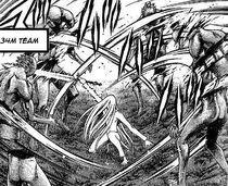 Miata mentre uccide alcuni Yoma