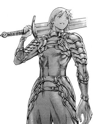 Raki in armor
