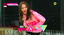 Eunbin is moved from A to D level