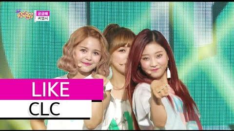 -HOT- CLC - Like, 씨엘씨 - 궁금해, Show Music core 20150627