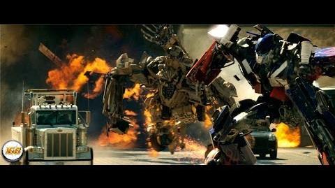 Transformers (2007) Optimus Prime VS Bonecrusher 1080p HD