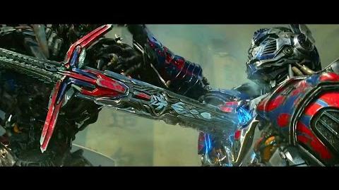 Optimus Prime vs. Lockdown Final Battle HD 1080p