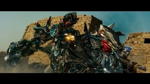 Transformers revenge of the fallen Optimus prime vs The fallen and Megatron (1080pHD VF)