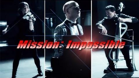 Mission Impossible (Piano Cello Violin) ft. Lindsey Stirling - ThePianoGuys