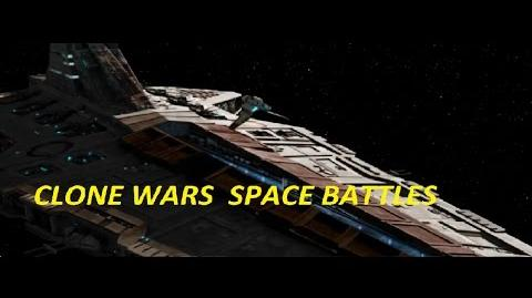 Clone Wars Space Battles