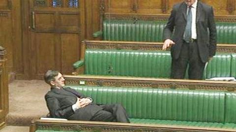 Jacob Rees-Mogg filibustering Sustainable Livestock Bill