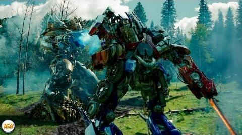 Transformers 2 Revenge Of The Fallen Forest Battle with Deleted Scenes 1080p HD