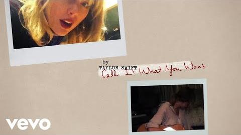 Taylor Swift - Call It What You Want (Lyric Video)