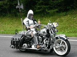 Knight-Motorcycle