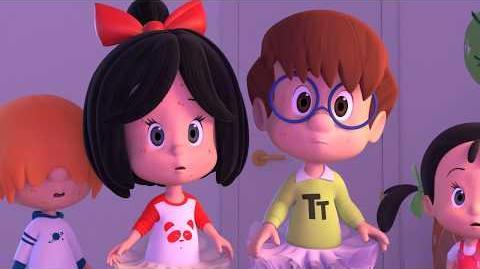 DOUBLÉ PLIÉ - Cleo and Cuquin in English. Episode 5. Nick Jr USA.