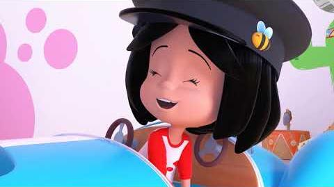 DRIVING PELUSIN - Cleo and Cuquin in English. Episode 3. Nick Jr USA.