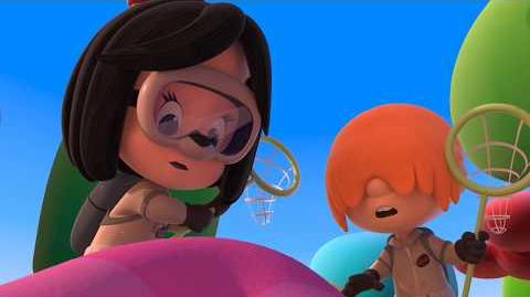 GHOSTCHATCHERS - Cleo and Cuquin in English. Episode 2. Nick Jr USA.