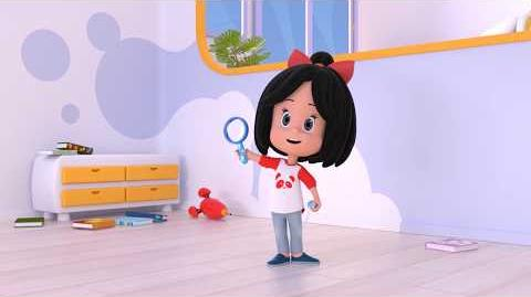 ELEMENTARY DEAR COLITAS - Cleo and Cuquin in English. Episode 6. Nick Jr USA.