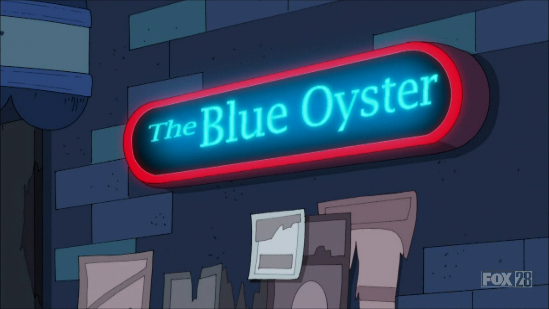 The Blue Oyster The Cleveland Show Wiki Fandom Powered By Wikia