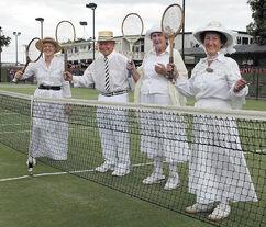 Old tennis big