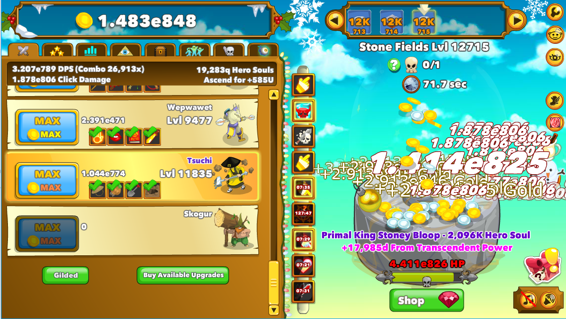 Gold | ClickerHeroes Wiki | FANDOM powered by Wikia