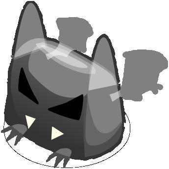 Ghostly Fat Bat