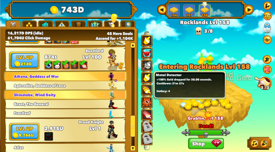 User blog:A quick brown/Progression | ClickerHeroes Wiki | FANDOM