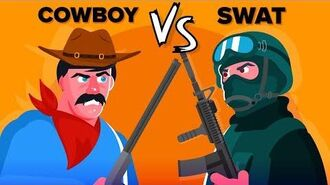 COWBOY vs SWAT - Who Would Win?