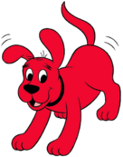 Clifford the Big Red Dog Happy