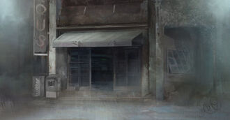 Ben's Painting - Lous