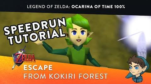 Escape From Kokiri Forest - 100% Ocarina of Time Speedrun Tutorial (Part 1)