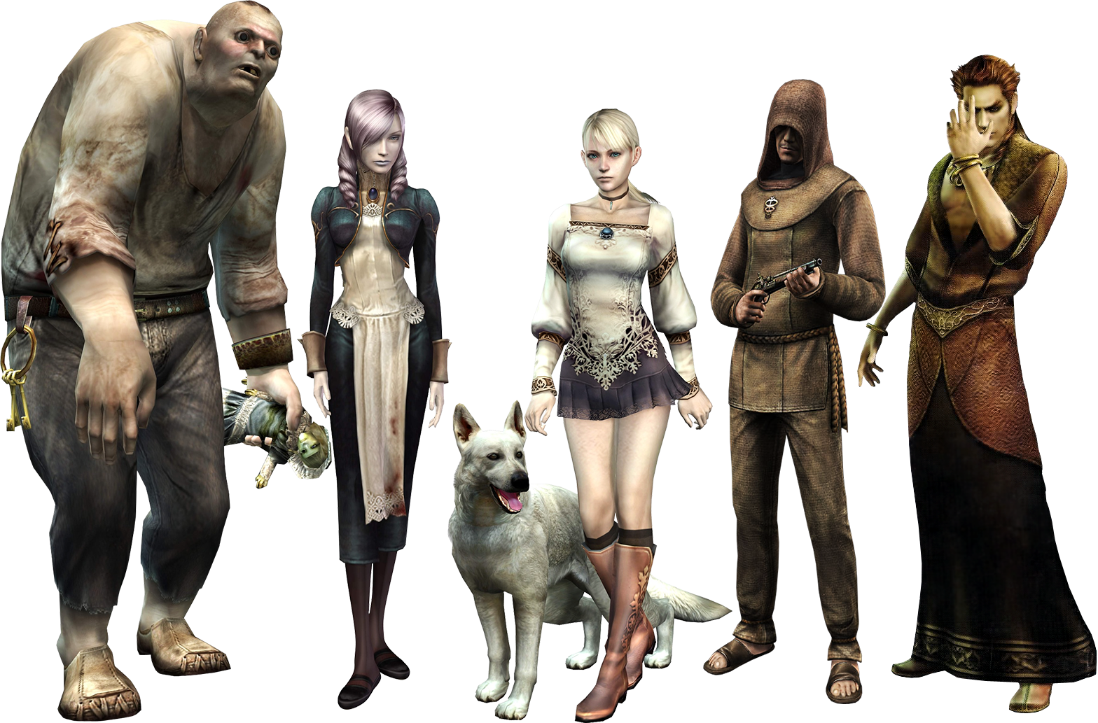 Image result for Haunting Ground logo