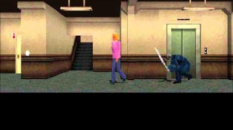 Clock Tower (PS1) gameplay
