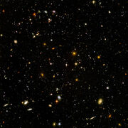 Hubble Ultra Deep Field Black point edit