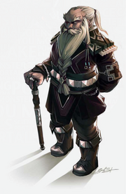 Dwarf government officer