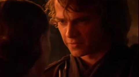 Anakin and Padme (Mustafar) in HD!