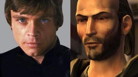 Versus Series Luke Skywalker VS Revan