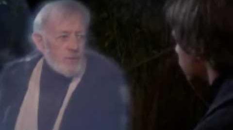 Obi Wan Tells Luke Anakins History