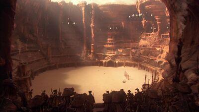 Geonosis arena