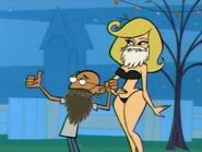 Gandhi and Jayne in Beards
