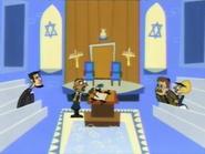 Gandhi's Jewish Inaguration ... Thing