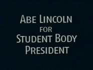 Abe Lincoln for Student Body President