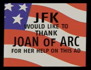 JFK in Thanks to Joan of Arc