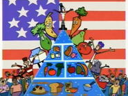 I Love You Food Pyramid