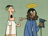 Jesus Nailed Himself