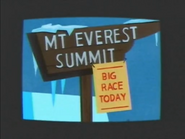 Mt. Everest Sign